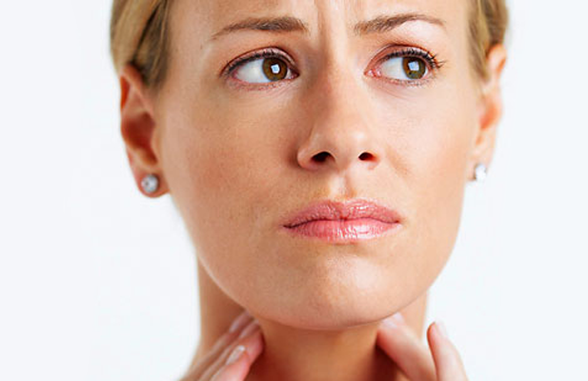 Симптомы рака миндалин