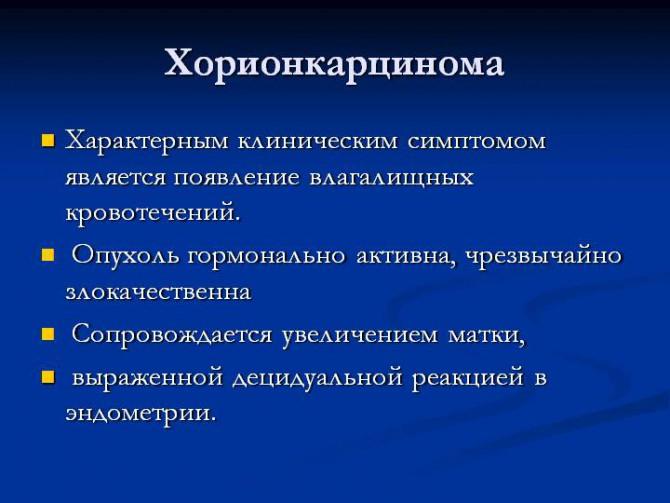 Хорионкарцинома