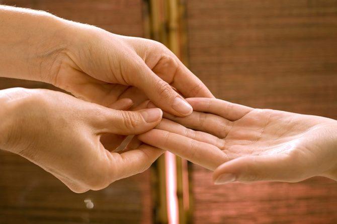 Гигрома пальца руки. Лечение.
