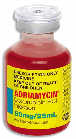Адриамицин (инструкция по применению)