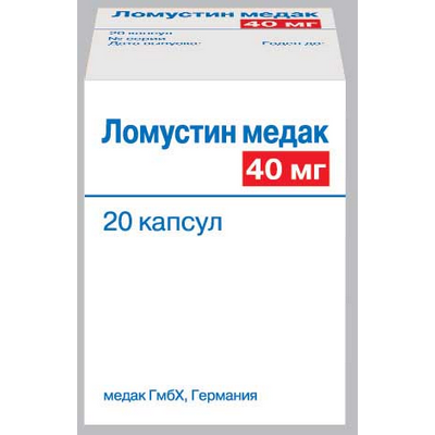 Ломустин - инструкция по применению препарата