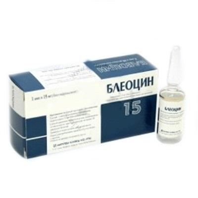 Препарат Блеоцин - инструкция по применению