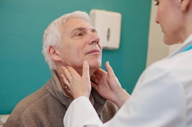 Диагностика лимфомы методом пульпации